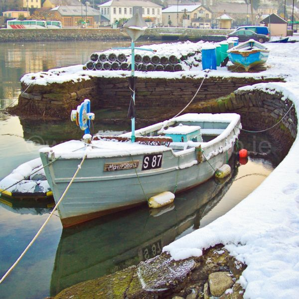 Bantry Harbour In Winter
