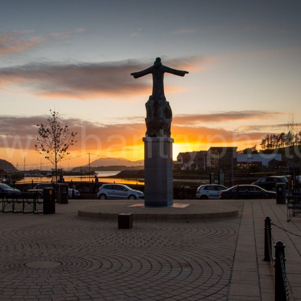 Bantry Town Sunset