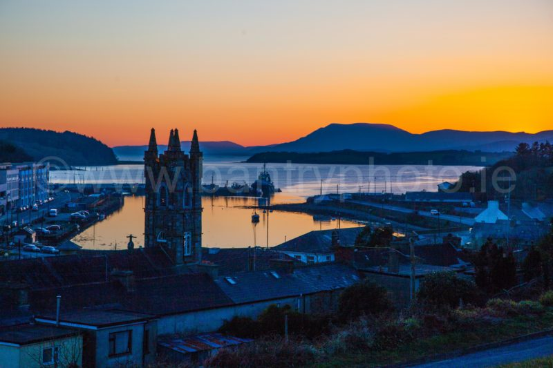 Bantry At Dusk